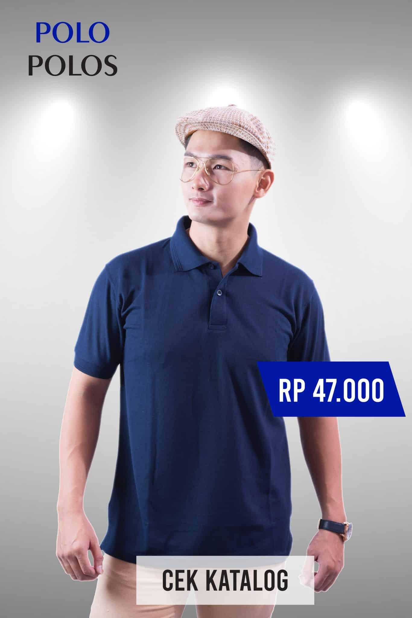 Kaos Polo Jogja Murah - Grosir Polo Jogja - Polo Polos - Ozzy Clothing