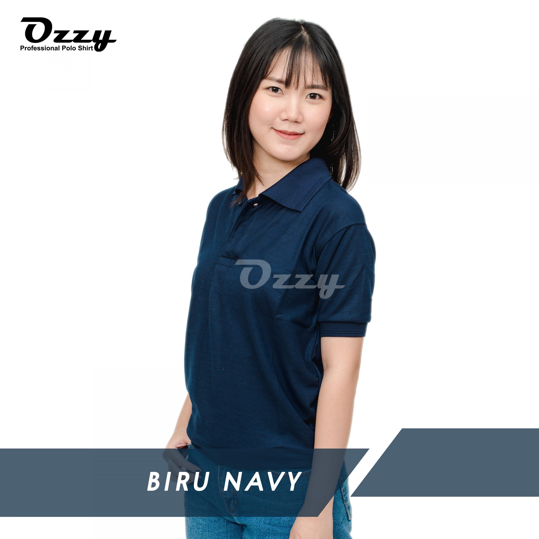 Jual Kaos Polo Jogja - BIRU NAVY (1-2)+