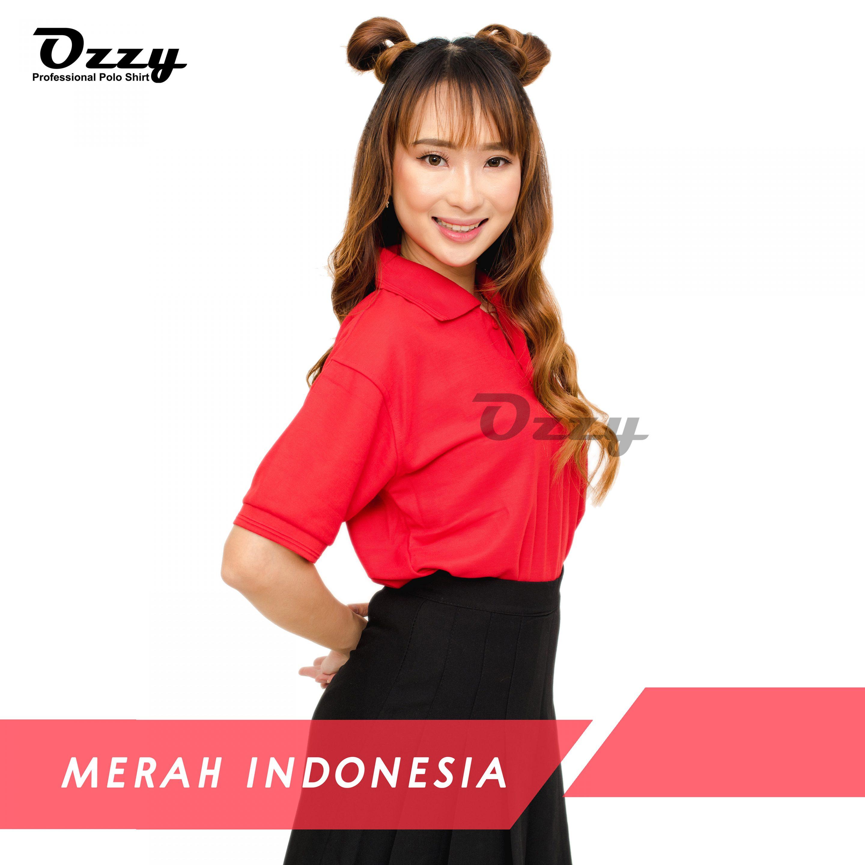 Jual Kaos Polo Jogja - MERAH INDONESIA (1-2)