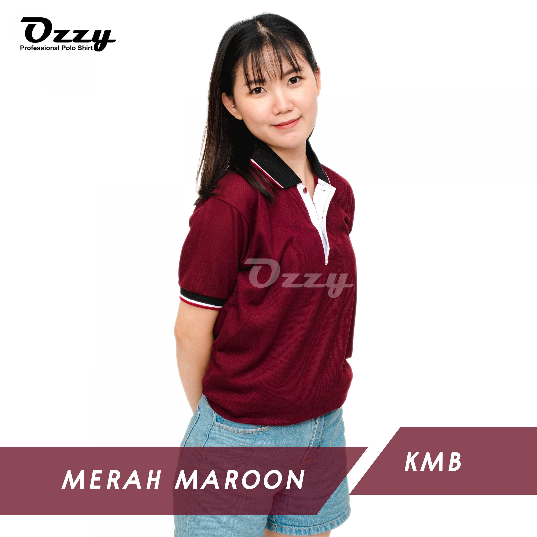 Jual Kaos Polo Jogja - MERAH MAROON KMB (1-2)