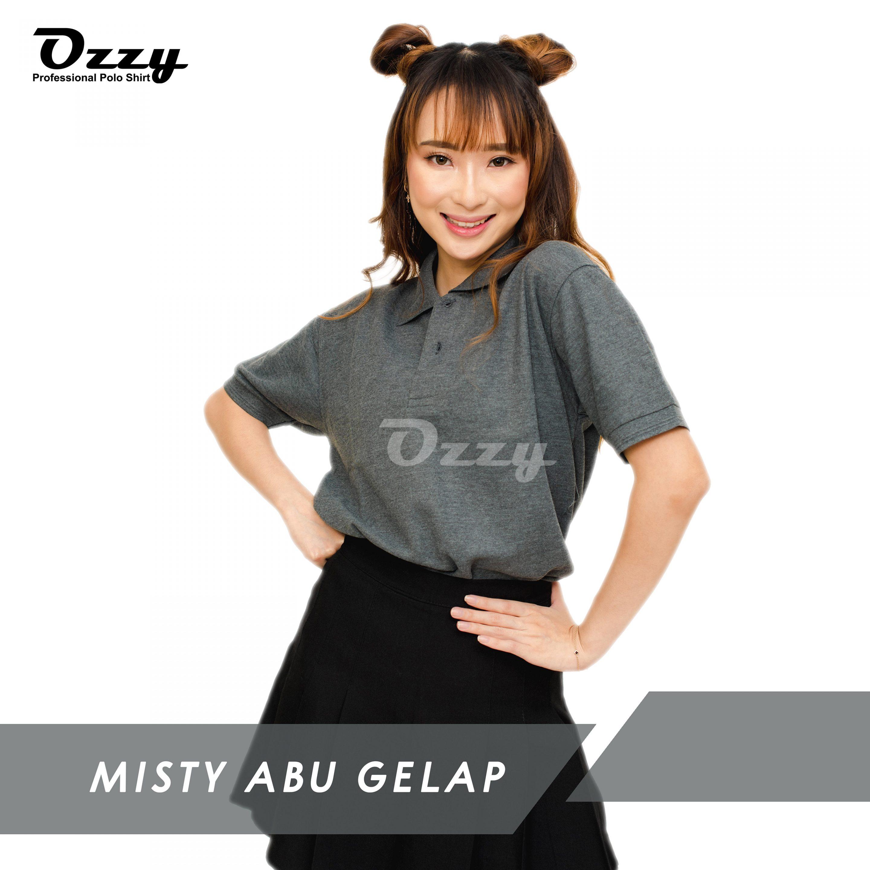 Jual Kaos Polo Jogja - MISTY ABU GELAP (1-2)